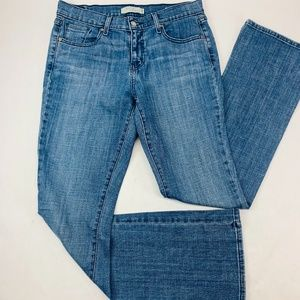 Levis 515 Womens Jeans 8 L/C Blue Boot Cut Stretch
